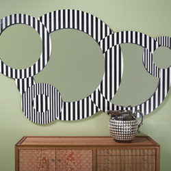 Striped Mirror